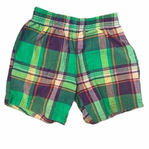 ✨3 for $30✨Carter's Baby Boy Plaid Shorts size 12M